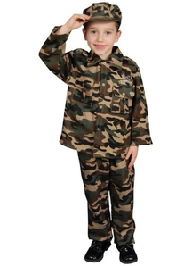 Army Man Child Costume