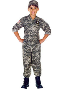 Army Us Soldier Child Costume