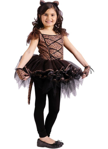 Ballerina Leopard Child Costume