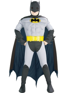 Batman Muscle Costume For Kids