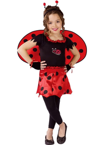Beautiful Ladybug Child Costume