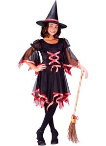 Beautiful Witch Child Costume