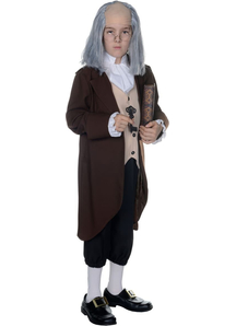 Ben Franklin Child Costume - 12205
