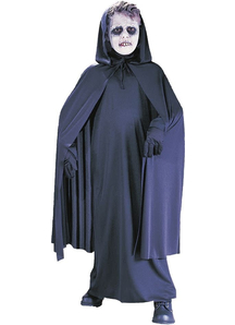 Black Hooded Cape Child