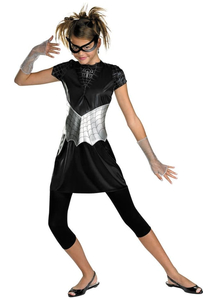 Black Spidergirl Child Costume