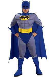 Blue Batman Costume Child