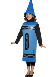 Blue Pencil Crayola Child Costume