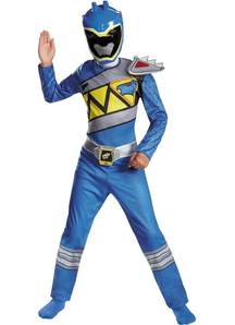Blue Ranger Dino Child Costume