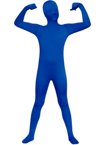 Blue Skin Suit Child