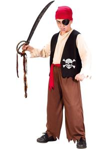 Bold Pirate Child Costume
