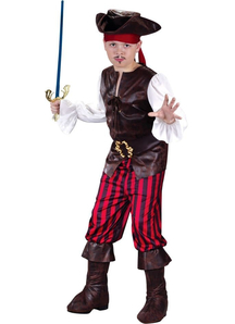 Brave Buccaneer Child Costume