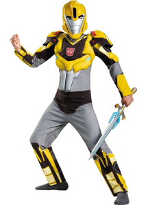 Bumblbee Transformers Muscle Child Costume