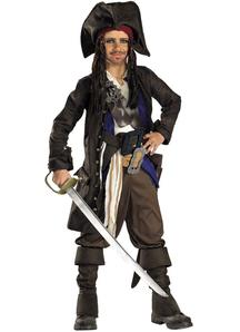 Captain Jack Sparraw Pirates Of The Carribean Child Costume