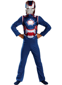 Classic Iron Patriot Child Costume