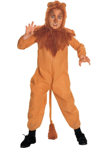 Cowardly Lion Wizard Of Oz Child Costume