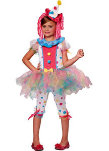 Cute Girl Clown Costume