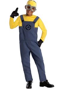Dave Despectable Me 2 Child Costume