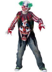 Dead Clown Child Costume - 12247
