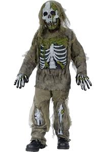 Dead Skeleton Kids Costume