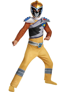 Dino Gold Ranger Child Costume