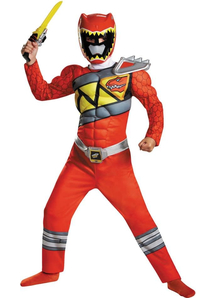 Dino Red Ranger Child Costume