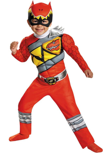 Dino Red Ranger Toddler Costume