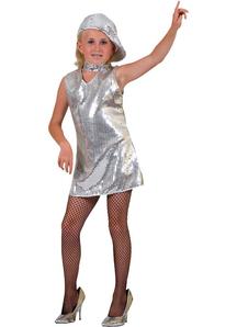 Disco Dress Silver