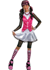 Draculaura Monster High Girls Costume