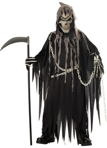 Evil Reaper Child Costume