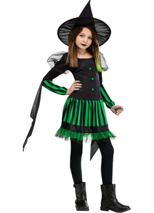 Evil Witch Child Costume