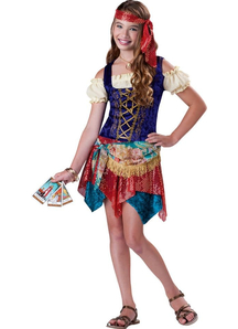 Fancy Gypsy Child Costume