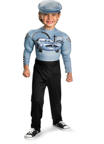 Finn Mcmissile Cars Child Costume