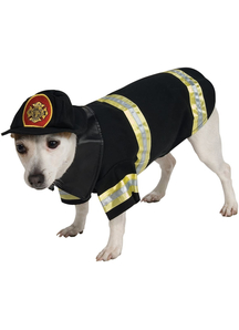 Firefighter Pet Costume