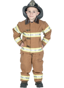 Firefighter Tan Child Costume