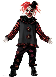 Frightful Clown Child Costume