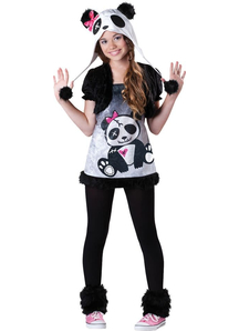 Funny Panda Child Costume