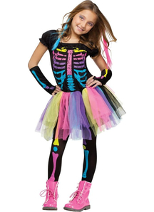 Funny Skeleton Child Costume