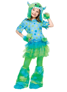 Furry Monster Child Costume
