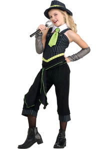Gangster Singer Child Costume