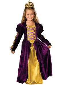 Gorgeous Queen Child Costume