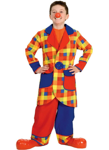 Great Clown Child Costume