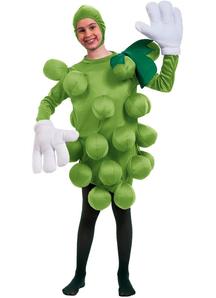 Green Grapes Child Costume