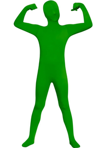 Green Skin Suit Child