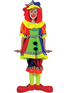 Happy Clown Child Costume
