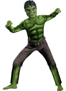 Hulk Avengers Child Costume