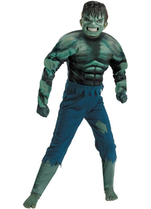 Hulk Muscle Child Costume