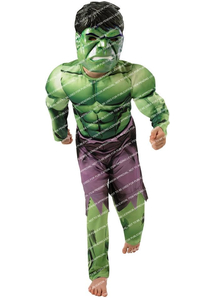 Hulk Superhero Child Costume