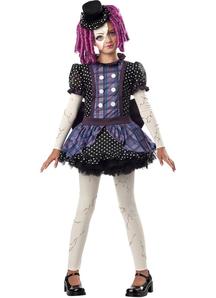 Little Broken Doll Child Costume