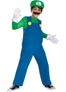 Luigi Supermario Child Costume