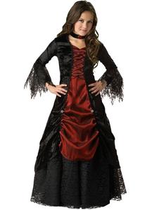 Luxury Vampiress Child Costume